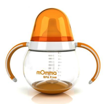 Неразливна чаша с дръжки - mOmma