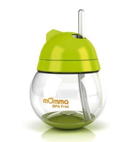 Неразливна чаша със сламка - mOmma