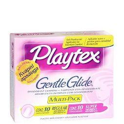 Playtex Тампони с апликатор Gentle Glide дезодорирани - Mix 18 бр.